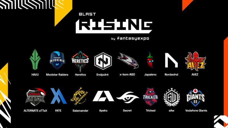 BLAST Rising 2020 Katılımcıları açıklandı!