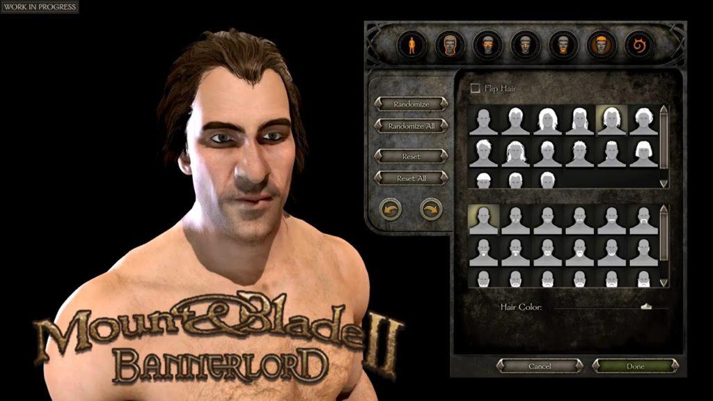 bannerlord modları Detailed Character Creation
