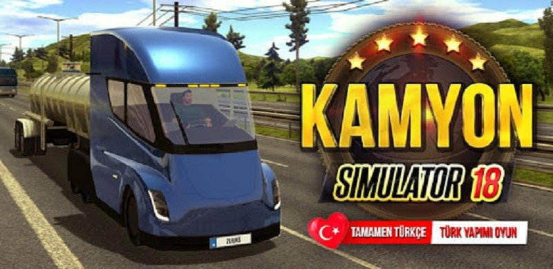 Kamyon Simulatör 2018: Europe