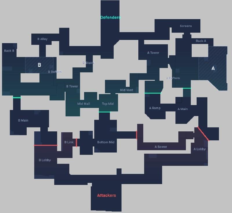Valorant Split Haritası Taktikleri