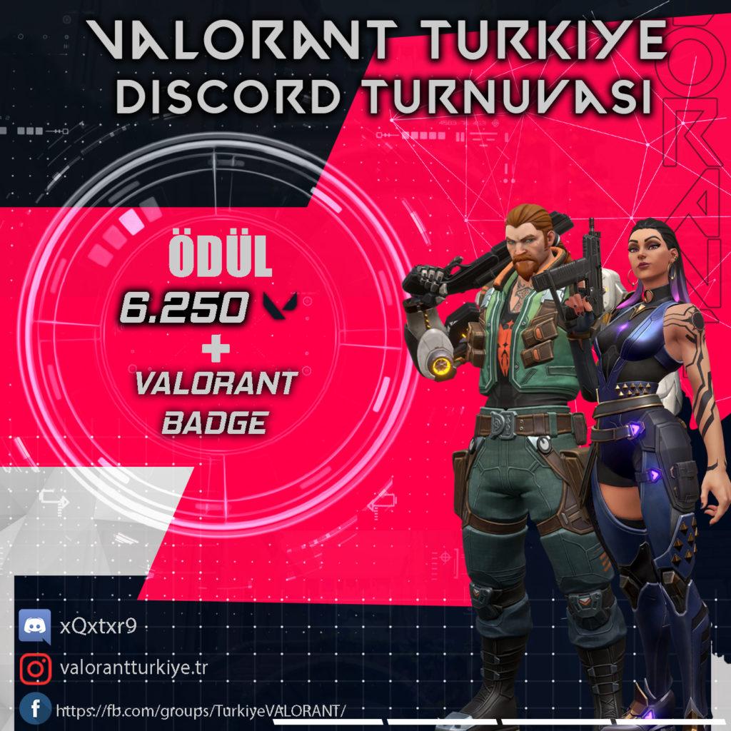 Valorant Türkiye Discord Turnuvası