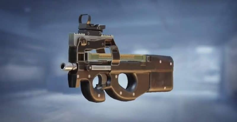 pubg p90 silahı