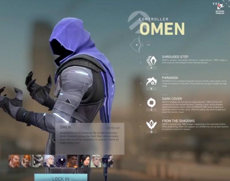 valorant Omen skills