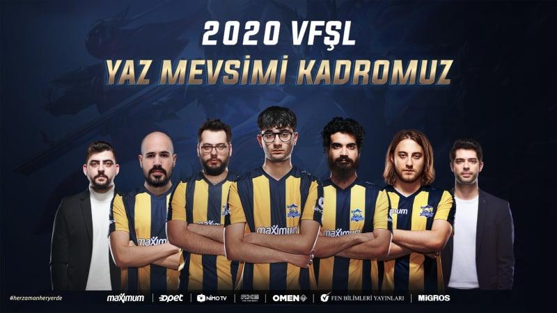 1907 Fenerbahçe espor kadrosu