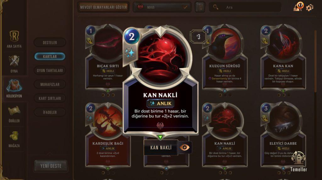 Legends of Runeterra büyü