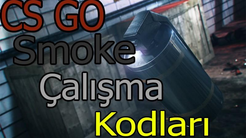 CS GO Smoke Çalışma Kodları