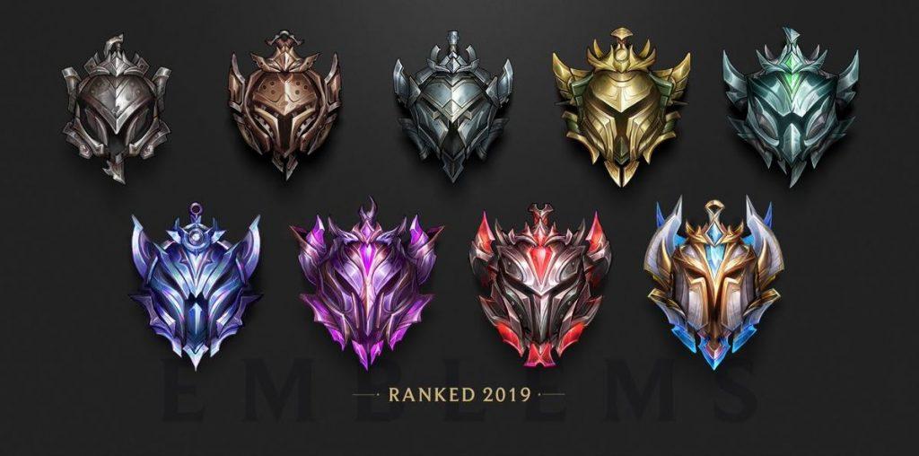 League of Legends Lig amblemleri