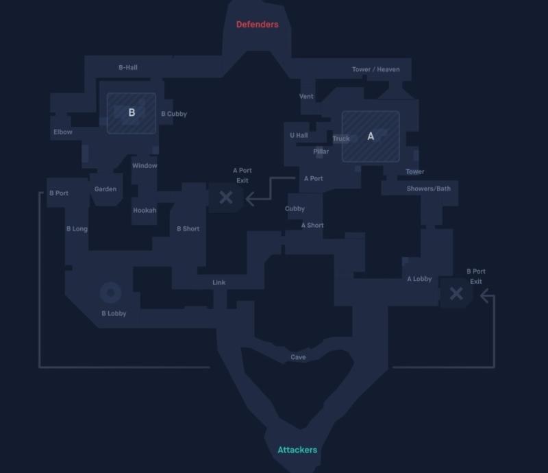 valorant bind haritası yer isimleri