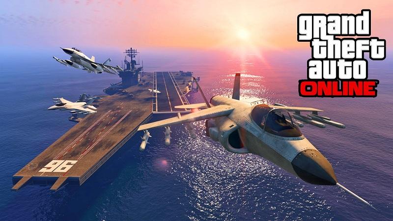 GTA 5 uçak kullanma
