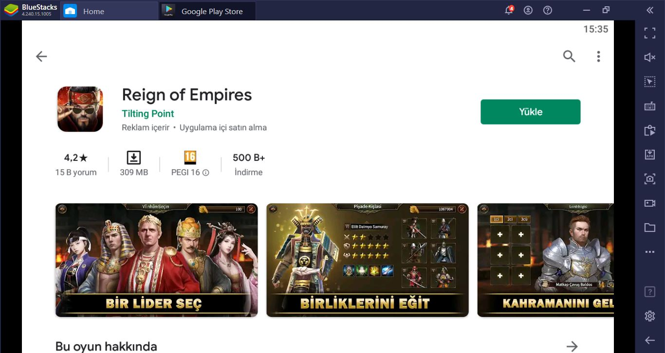 Reign of Empires