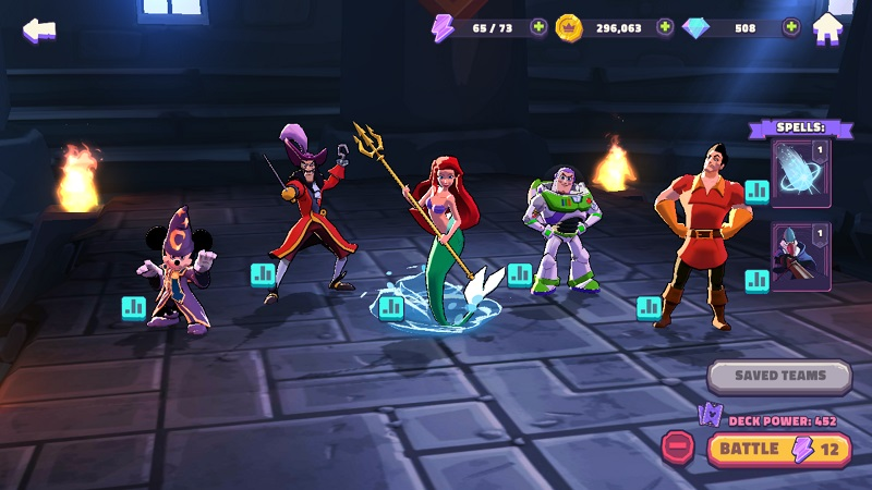 Disney Sorcerer's Arena Oyunu