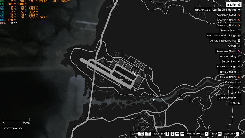 GTA 5 askeri üs