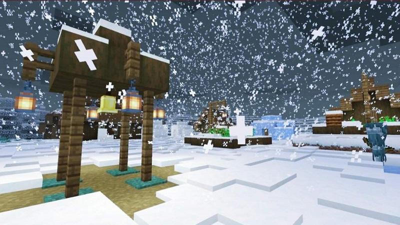 Minecraft kar yağdırma kodu