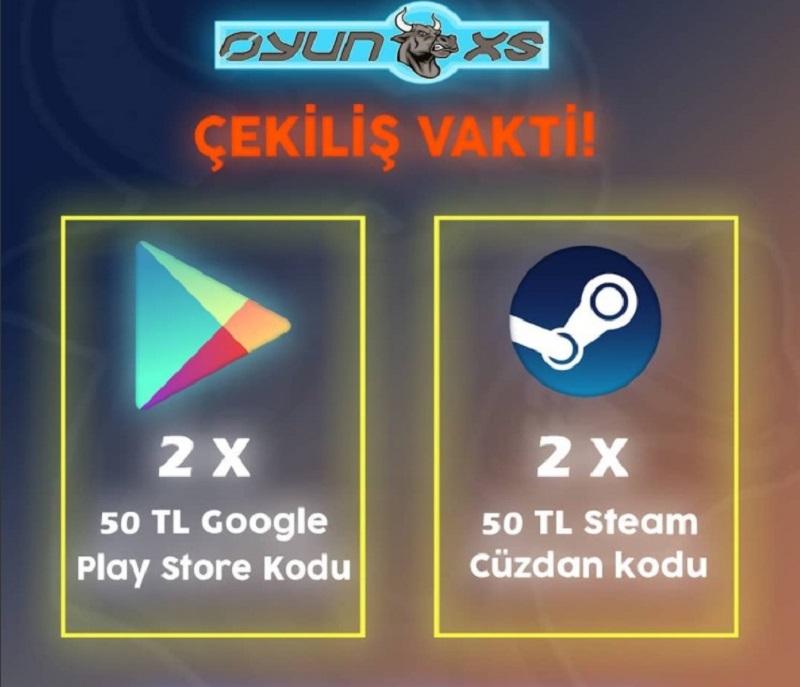 Oyunoxs Steam ve Play Store kodu çekilişi başladı!