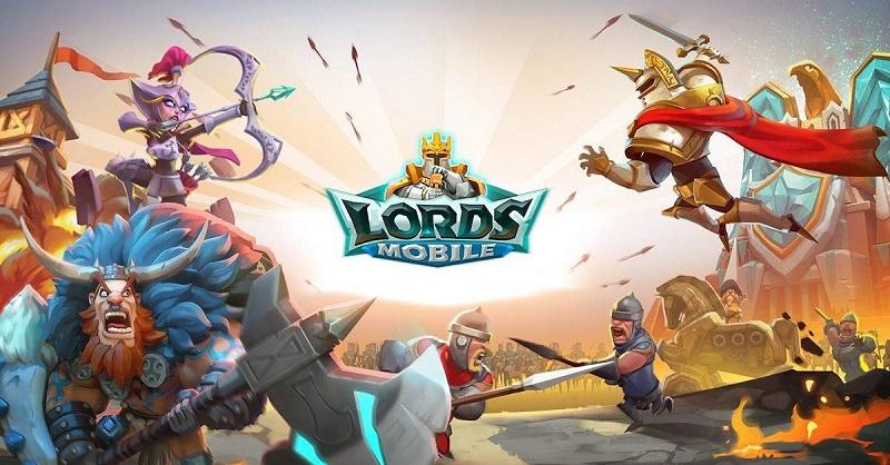 Lords Mobile ile oyunculara karşı savaşmaya başlayın